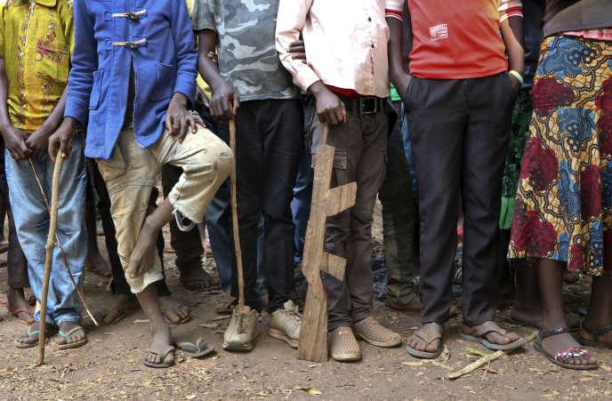 En février 2018, des anciens enfants soldats dans une structure de l'Unicef à Yambio, au Soudan du Sud.