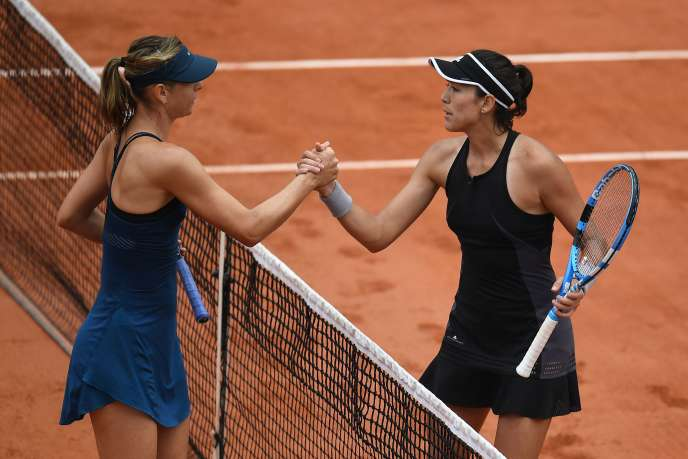 Garbine Muguruza et Maria Sharapova.