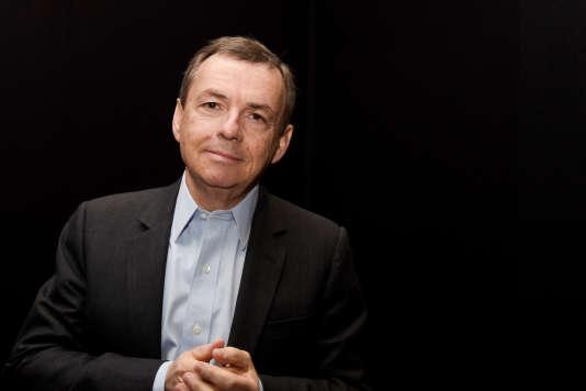 Le PDG de NextRadioTV, Alain Weill, le 20 mars 2018.
