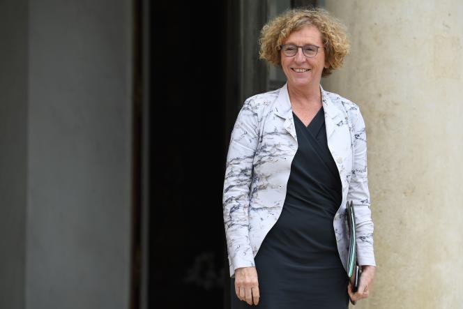 La ministre du travail, Muriel Pénicaud, le 6 juin 2018 à l'Elysée.