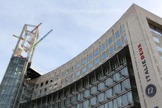 Le centre commercial Italie 2 dans le 13e arrondissement de Paris.