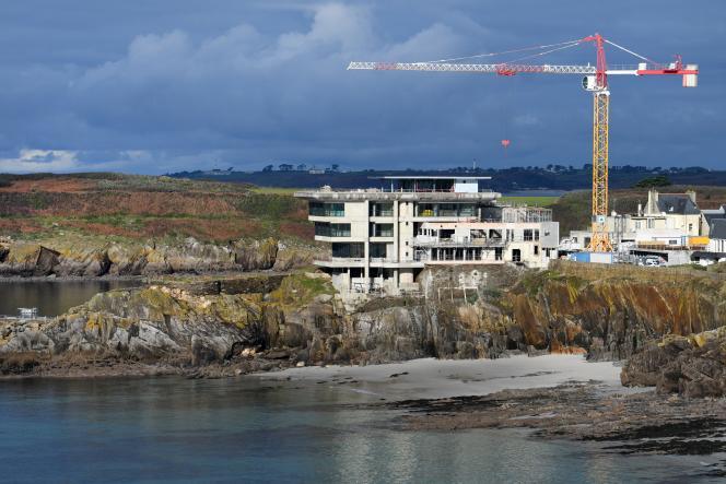 Au Conquet (Finistère), en décembre 2017.