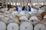 Rouleaux d'aluminim, dans une usine àHuaibei, dans la province chinoise de l'Anhui, le 20 mai 2017.