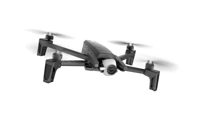 Le drone de loisirs Anafi a été lancé par Parrot, en juillet.