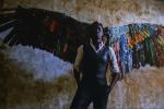 Oeuvre de Laeila Adjovi intitulée« Malaika Dotou Sankofa».