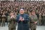 Kim Jong-un, en août 2017, sur une photo de l'agence officielle du régime nord-coréen, KCNA.