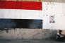 A Talbisi, en Syrie, le 6 juin. Sur le mur, un portrait du président syrien, Bachar Al-Assad.