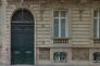 La facade du 43, rue de Monceau à Paris.