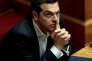 Le premier ministre grec, Alexis Tsipras, au Parlement, à Athènes, le 22 février.