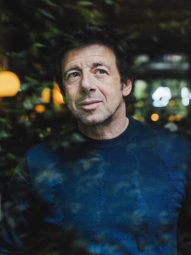 Patrick Bruel à l'hôtel La Réserve, à Paris, le 23 mai 2018.