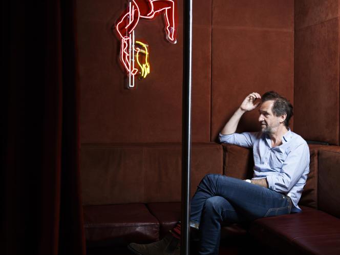Stéphane de Groodt, à l'hôtel Le Pigalle, Paris 9e, en avril.