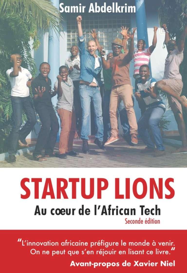 La couverture de la seconde édition de «Startup Lions», de Samir Abdelkrim, en vente sur Amazon.