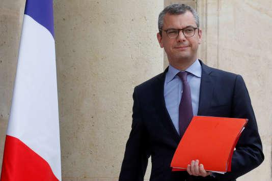 Le secrétaire général de la présidence, Alexis Kohler, au palais de l'Elysée, le 5 juin.