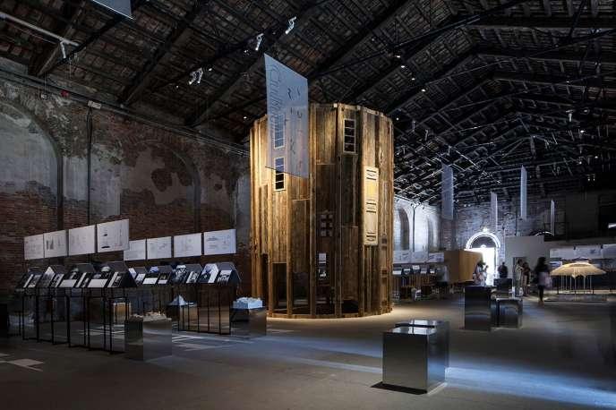 Le pavillon chinois à la Biennale d'architecture de Venise 2018.