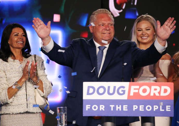Doug Ford, le 7 juin à Toronto.