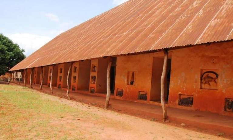 Le musée historique d'Abomey, au Bénin.