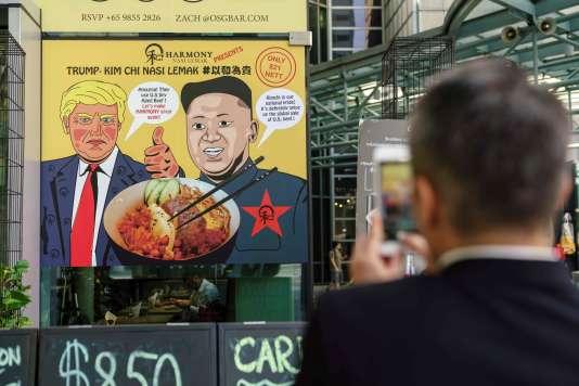 «La crise nucléaire nord-coréenne n'est pas seulement une crise bilatérale entre Washington et Pyongyang mais bel et bien un enjeu global» (à Singapour, le 6 juin).