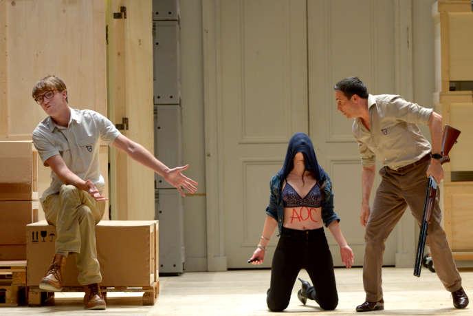 « L'Avare», de Molière mis en scène par Ludovic Lagarde.