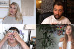 Les youtubeurs EnjoyPhoenix, DavidLafargePokemon, Monblogdefille, Juste Zoé, quatre youtubeurs stars du web français.