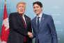 «Trump se veut le grand perturbateur des relations internationales et il ne met pas de gants blancs pour arriver à ses fins» (Justin Trudeau et Donald Trump le 8 juin).