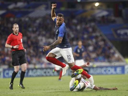 Corentin Tolisso et l'équipe de France n'ont pas fait mieux qu'un nul, face aux Etats-Unis.