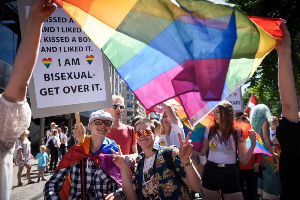 Ils ont revendiqué le mariage pour tous, une éducation antidiscrimination et sexuelle dans les écoles, la protection contre les actes et le langage haineux.