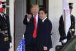 Le président américain, Donald Trump, et le premier ministre japonais, Shinzo Abe, à Washington, le 7 juin.