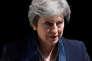 La première ministre britannique, Theresa May, à Downing Street, le 23 mai.