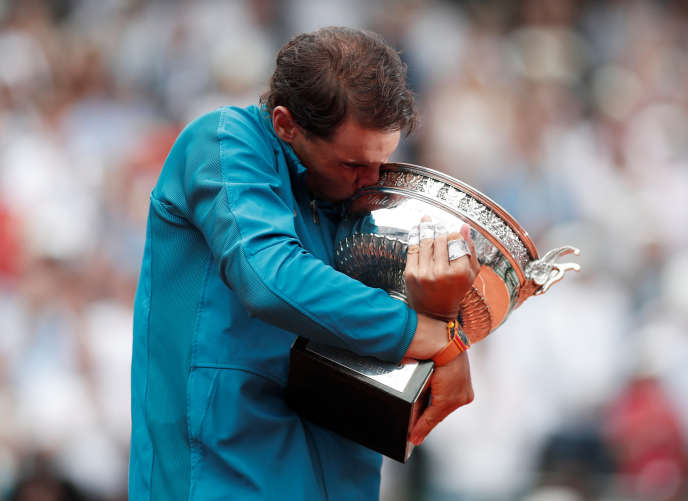Entre Rafael Nadal et la coupe des Mousquetaires, une histoire d'amour qui dure depuis 2005.