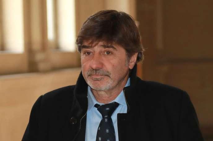 Michel Neyret devant la cour d'appel de Paris, le 4 avril 2018.