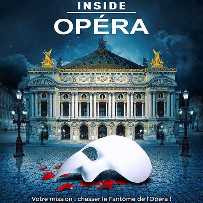 L'affiche de l'événement à l'Opéra Garnier.