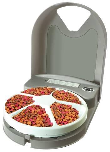 Le meilleur distributeur automatique pour chats et petits chiens Distributeur automatique PetSafe 5 repas
