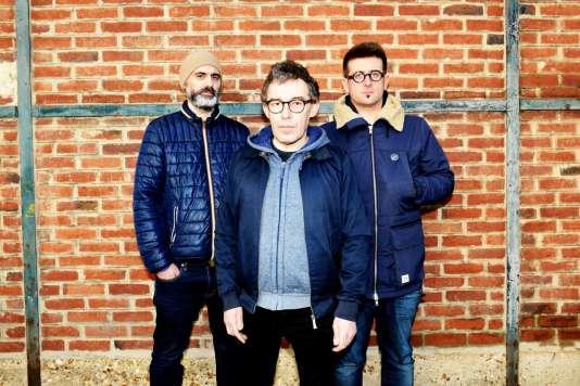 Le trio rock rennais The Married Monk.