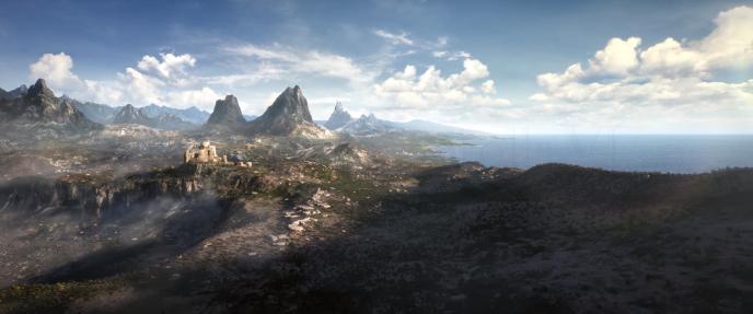 Dernière image de la conférence Bethesda : ce paysage de« The Elder Scrolls VI».