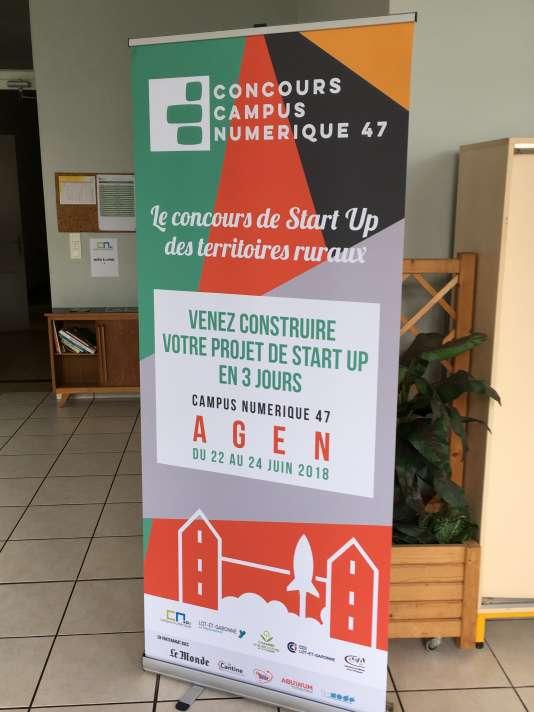 Le campus numérique d'Agen sera lancé à l'occasion d'un concours de start-up des territoires ruraux, du 22 au 24juin, dont «Le Monde» est partenaire.