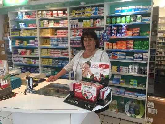 Christine Daguet, vice-présidente du syndicat des pharmaciens de l'Indre et propriétaire de la pharmacie Daguet.