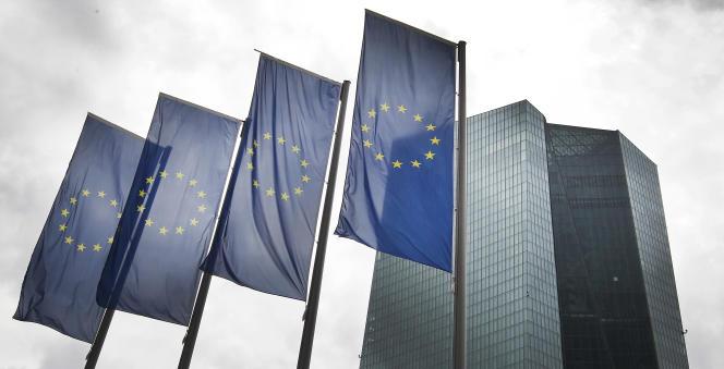 Le siège de la Banque centrale européenne, à Francfort-sur-le-Main (ouest de l'Allemagne), le 1er juin.