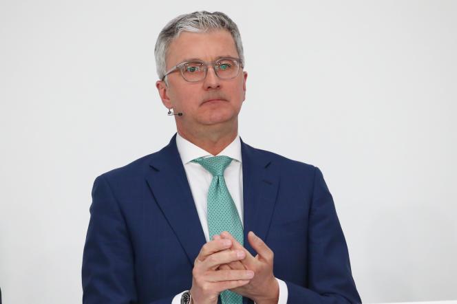 Le patron d'Audi, Rupert Stadler, est soupçonné de fraude et de publicité mensongère. Ici, le 15 mars.