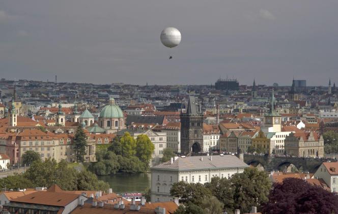 Vue de Prague, le 12 juin 2012.