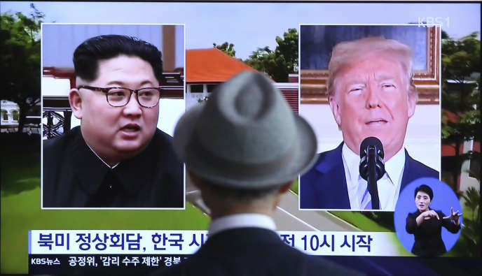 «On a du mal à voir comment une rencontre avec le représentant d'un régime diabolisé va alléger les contraintes internationales américaines face aux défis de la Russie et de la Chine, et du Moyen-Orient » (Photo: le 11 juin, à Séoul, en Corée du Sud).