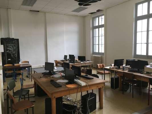 En cours de rénovation, les anciens locaux de l'Ecole normale d'Agen accueillent une école d'informatique, InTech'.