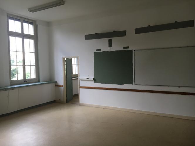Les anciennes salles de cours de l'Ecole supérieure du professorat d'Agen.