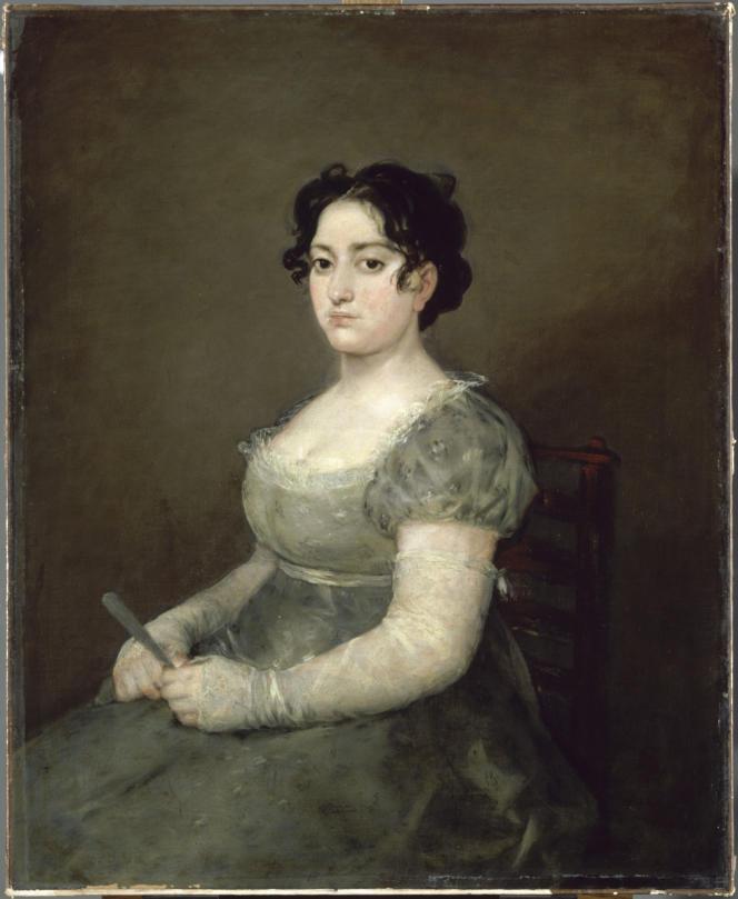 Conservée au Louvre, «La Femme à l'éventail», de Goya, viendra dès la rentrée dialoguer avec d'autres œuvres du peintre espagnol au Musée des beaux-arts d'Agen.