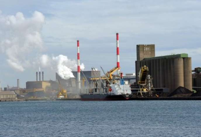Port de Dunkerque.