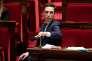 Le rapporteur du«projet de loi pour un Nouveau pacte ferroviaire»,Jean Baptiste Djebbari, à l'Assemblée nationale, le 12 avril.