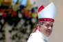 Le pape François a accepté la démission de l'évèque chilienJuan Barros, ici en janvier,à la suite d'un vaste scandale de pédophilie dans le clergé du pays.