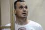 Oleg Sentsov, lors de sa condamnation, à Rostov-sur-le-Don, en août 2015.