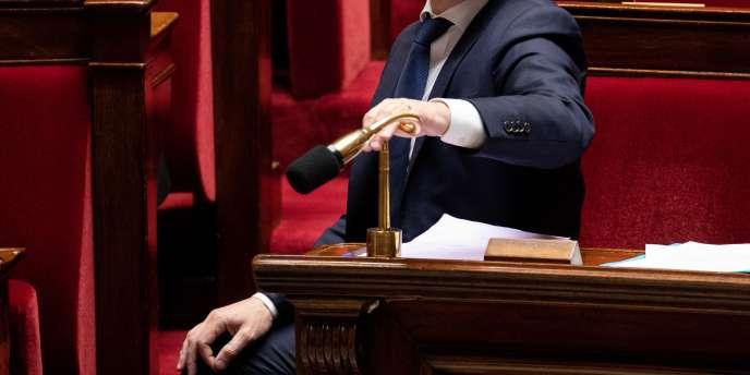 Pupitre à l'Assemblée nationale.
