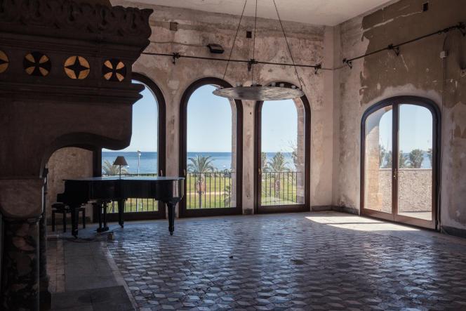 Au palazzo Forcella De Seta, dont la grande salle a été réhabilitée grâce à l'équipe réunie autour de Manifesta.