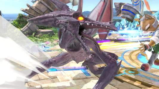 Ridley, personnage de « Metroid » adapté dans « Super Smash Bros. Ultimate ».